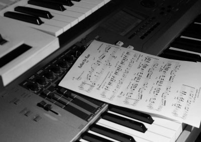 Recording Session Sum Of Its Parts - Keys & Sheetmusic