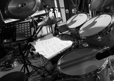 Recording Session Sum Of Its Parts - Drums & Sheet Music