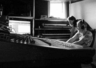 Recording Session Sum Of Its Parts - Frans & Niels Listening