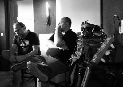 Recording Session Sum Of Its Parts - Coen & Rene Listening