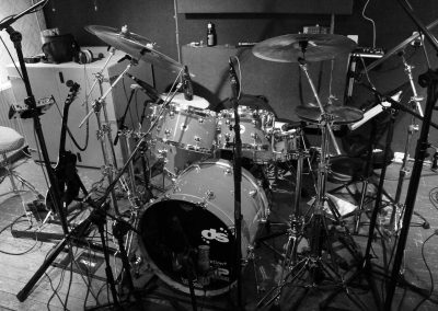 Recording Session Sum Of Its Parts - Niels Voskuil Drums Setup